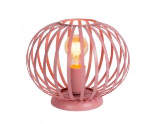 różowa lampa