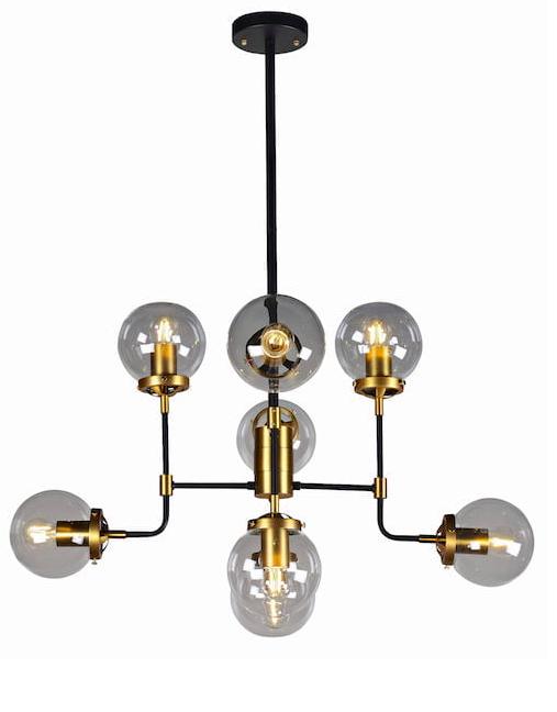 lampa z żarówek