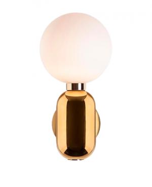 lampa kula złota